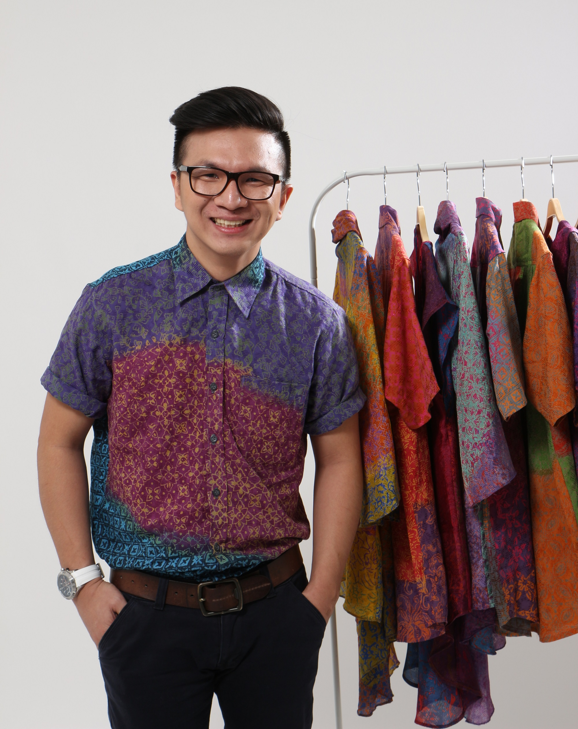 Albert Palit - Founder of Sanubari Batik