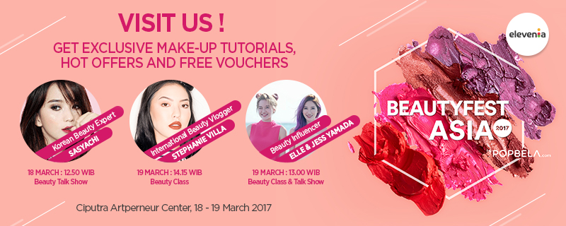 Get Your Korean Beauty Look & Products only at Beautyfest Asia!
