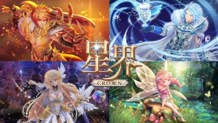Crown Four Kingdom - 5 Game MMORPG Android Terbaik di 2019