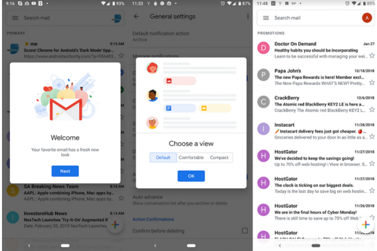6720 Gmail On Android