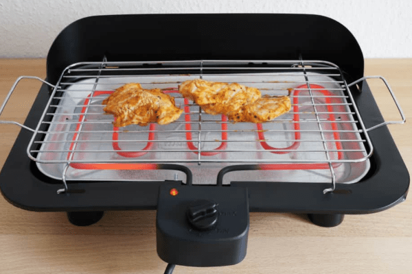 Electric Grill Cook