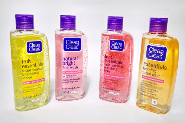 Harga Clean and Clear Foaming Facial Wash