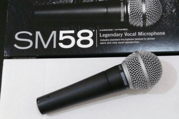 Microphone Shure Switch Wire Vokal