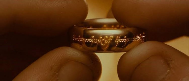 11820 One Ring The Lord Of The Ring