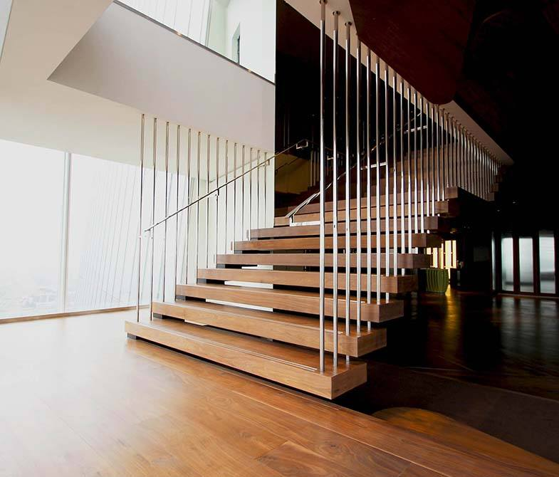 Stainless Steel Balustrades | Bespoke Design | Canal Architectural
