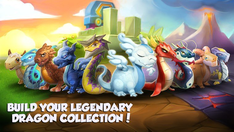 game untuk Dragon Mania Legends