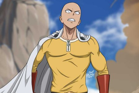 anime comedy One Punch Man